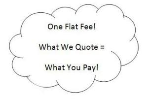 One Flat Fee